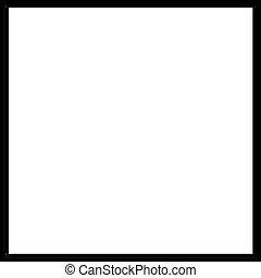 black rim frame - frame or border for scrapbooking and...