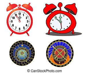 various clock - astronomical clock