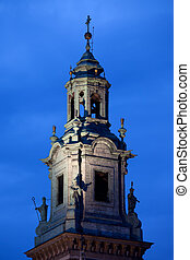 Clock Tower of the Wawel Cathedral in Krakow - Clock Tower...