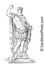 Augustus aka Octavianus aka Gaius Julius Caesar Augustus,...