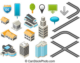 Isometric map toolkit - Map toolkit with Isometric Buildings...