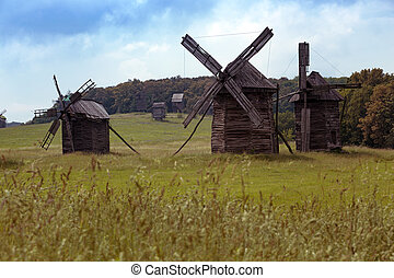 Mills in the Pirogovo Museum - Old mills in the National...