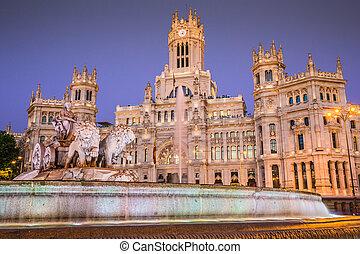 Plaza de la Cibeles (Cybele's Square) - Central Post Office...