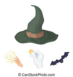 Focus with a coin, a bat, a mage's hat, a lightning-fast...