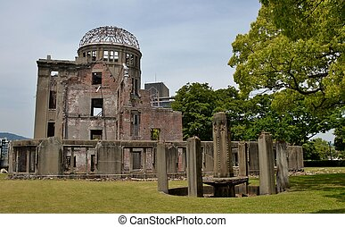 The A-Bomb Dome (Hiroshima Prefectural Industrial Promotion...