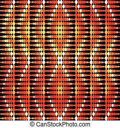 Bright geometric abstract color pattern