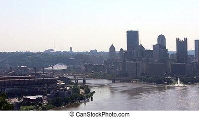 America Pittsburgh skyline - America U.S.A. Pittsburgh...