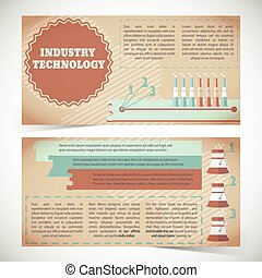 Industry Technology Banners - Industry technology horizontal...