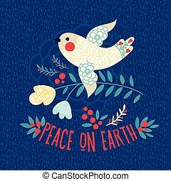 Peace on earth.