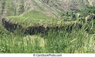 Armenia, Green mountain valley