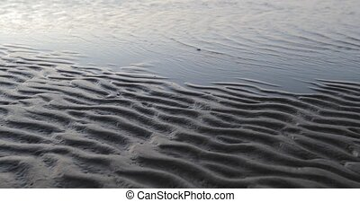 sand waves by the sea
