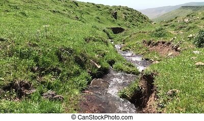 Mountain stream Armenia