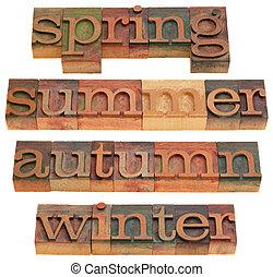 Outono, primavera, verão, Inverno