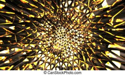 Magma kaleidoscope.   - Magma kaleidoscope.