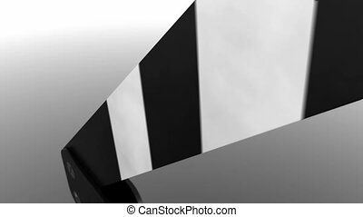 Clapperboard - Close view of different parts of a...