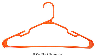 Orange Plastic Hanger