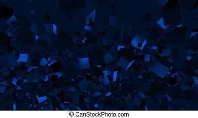Abstract Moving Blocks Background