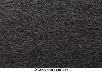 Slate black on macro.