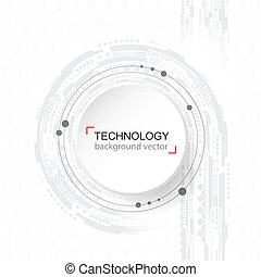 Abstract technology Background. Digital network and hightech...