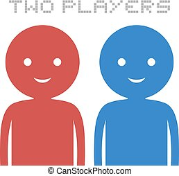 two players puppets - Creative design of two players puppets
