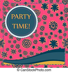 Kid Style Print Party Time