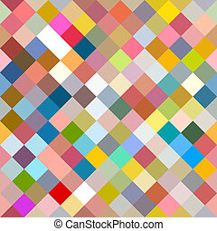 Seamless Website Background With Cube Squares Art