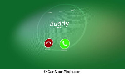 """Cheerful animated mobile phone calling"" - ""Hilarious 3d..."