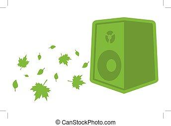 green ecology speaker