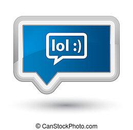 LOL bubble icon prime blue banner button - LOL bubble icon...