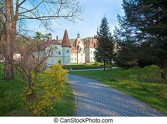 Hunting Lodge palace of Shenborn - Pebble way toHunting...