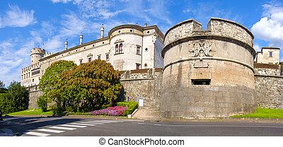 Castello del Buonconsiglio ( Buonconsiglio Castle ) in...