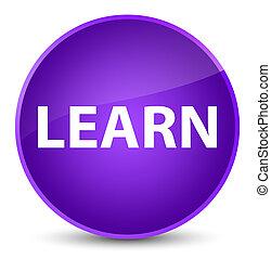 Learn elegant purple round button