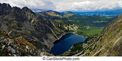 Panoiramic of Tatras mountain