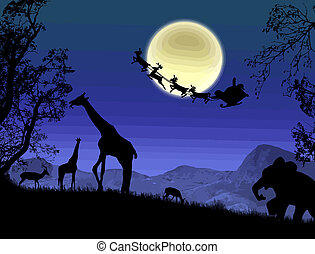 Santa Claus in Africa