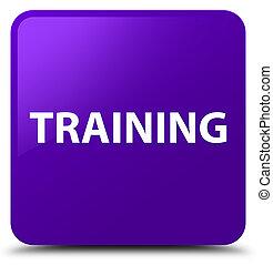 Training purple square button