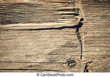 detail hewn old wooden boards - abstract background detail...