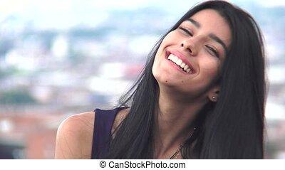 Beautiful Hispanic Girl Teen
