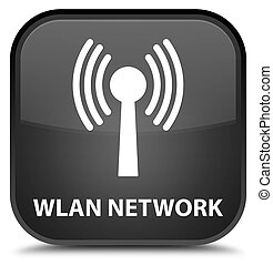 Wlan network special black square button - Wlan network...