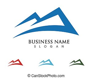 Mountain icon  Logo Business
