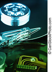Details of electronic device - hard disk