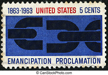 Emancipation proclamation - UNITED STATES OF AMERICA - CIRCA...