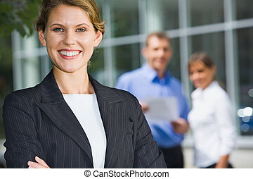 Successful young business women