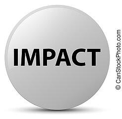 Impact white round button - Impact isolated on white round...