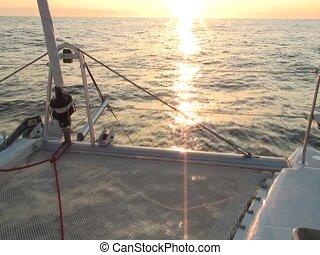Horizon on sea