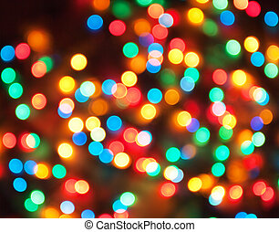 Holiday background - abstract holiday background, defocused...