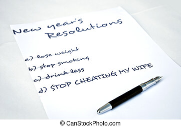 Stop cheating my wife