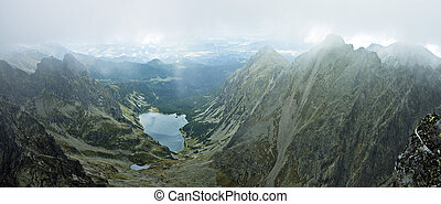 Tatras mountains panorama