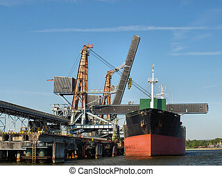 Coal Pier - Pier for the loading of coal ships at the port...
