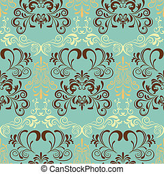 Abstract seamless retro pattern Illustration vector
