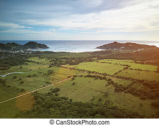 Landscape of san juan del sur